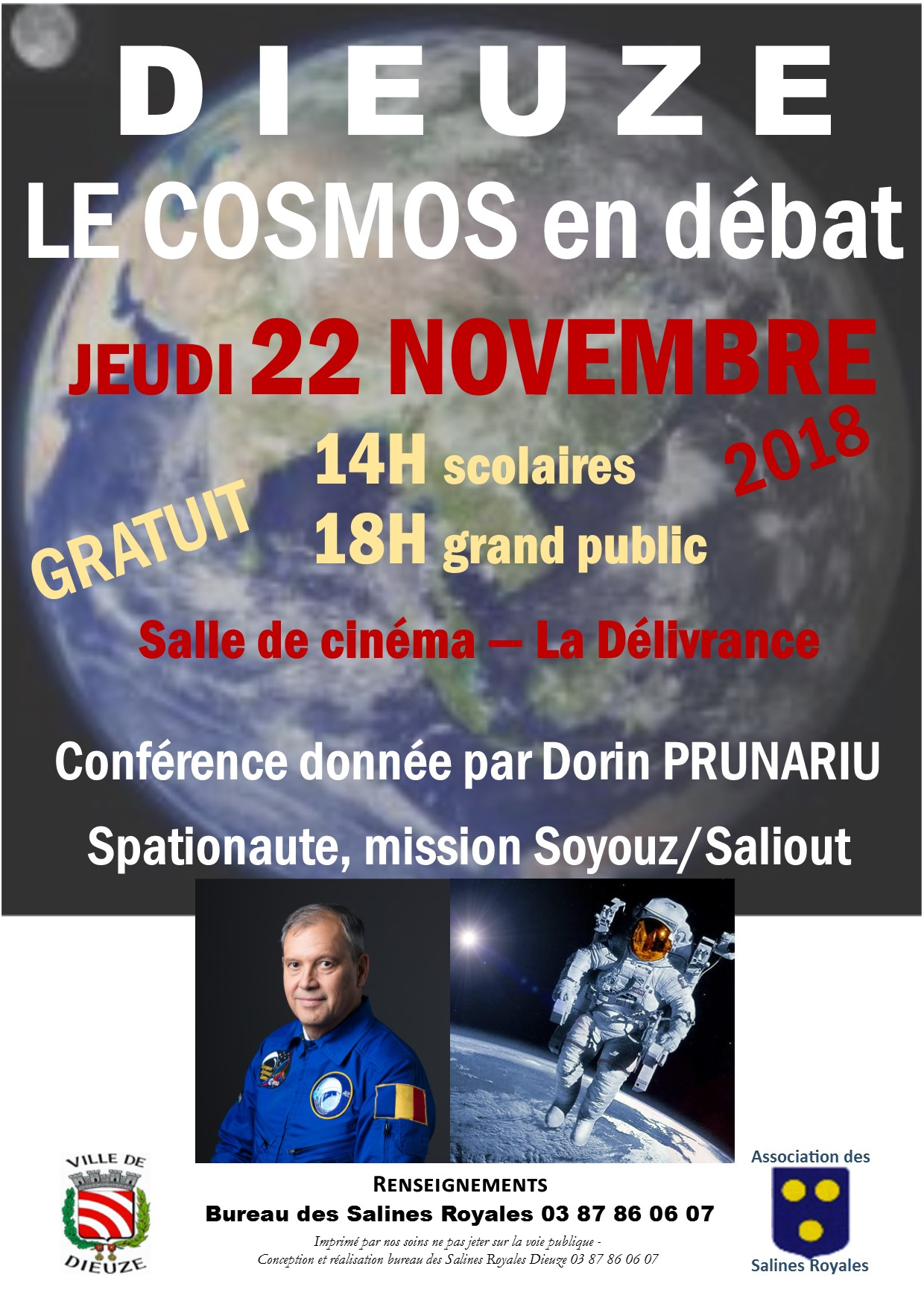 FLYER CONFERENCE ASTRONAUTE SPATIONAUTE