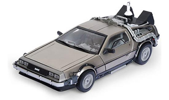 back to the future delorean 1