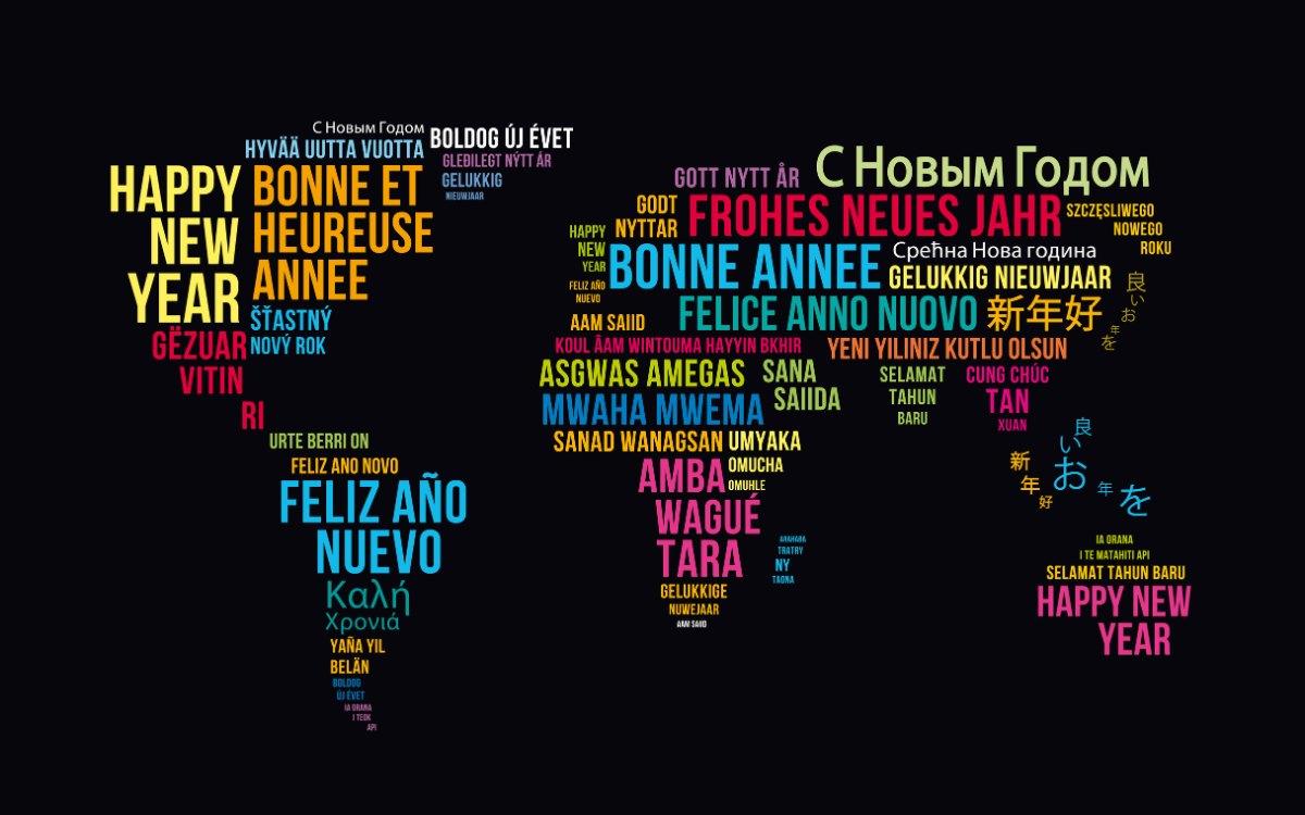 """Résultat de recherche d'images pour """"Bonne année dans toutes les langues"""""""