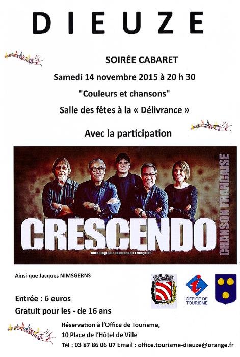 Crescendo Et La Chanson Française à La